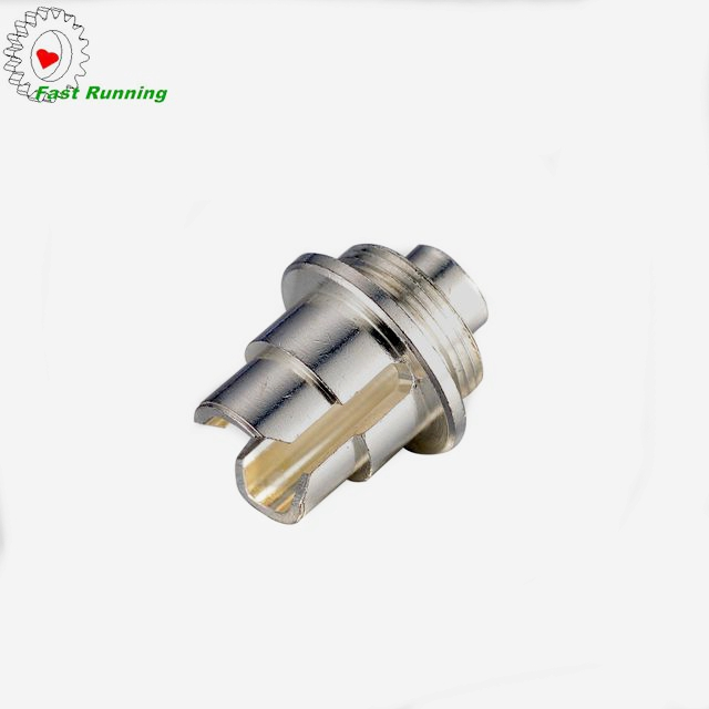 chinese custom high quality cnc drilling female threaded <strong>nozzle</strong> pipe copper male <strong>connector</strong>