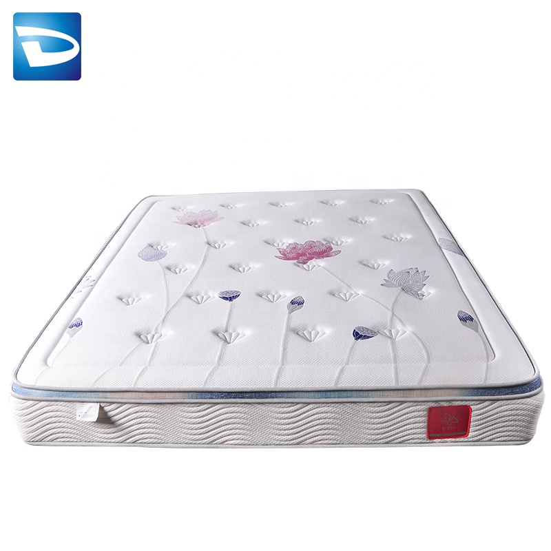 King frame hybrid cover zippered mattress in china - Jozy Mattress | Jozy.net