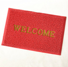 wholesale custom red 80*120 120*150 <strong>122</strong>*180 luxury commercial indoor/outdoor pvc welcome coil mat