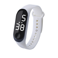 Colorful Sport LED Pedometer Fitness Digital Smart Watch