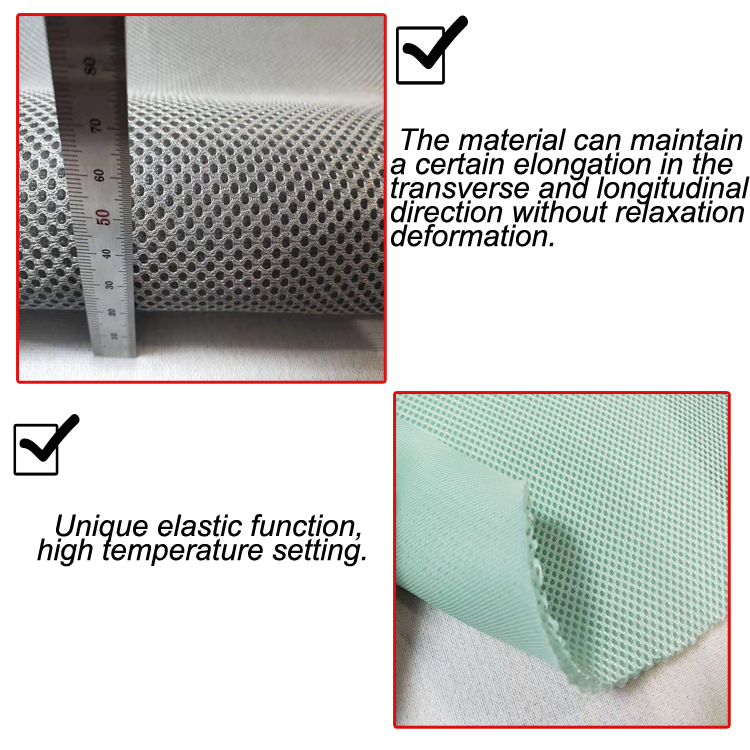 SGS certificated 1cm soft and washable polyester cooling 3d spacer mattress - Jozy Mattress   Jozy.net
