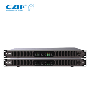 4 channel 1500W 1U power amplifier