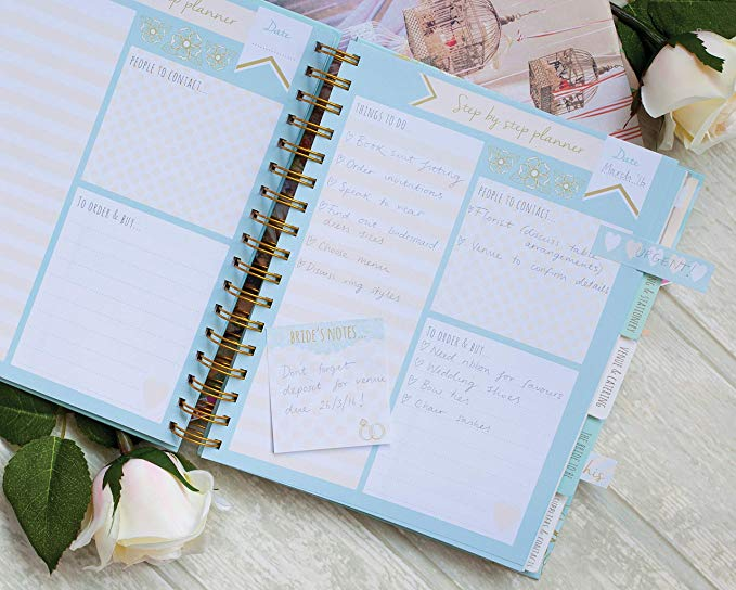 Groothandel Hard Cover Planner A4 A5 Notebook Spiral Wedding Planner. Custom Notebook
