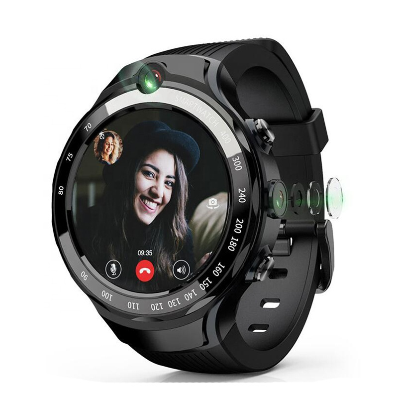 Android GPS smart watch 4G sim card 5MP 2 camera bluetooth smartwatch wifi with CE RoHS