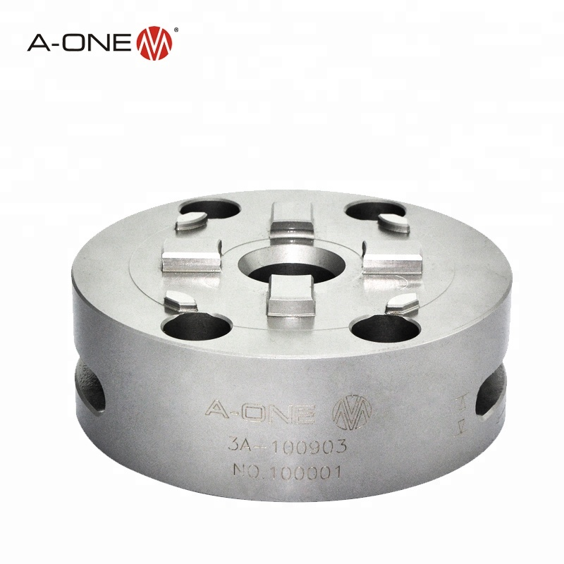 A-one precision R type 4 jaw manual chuck for automatic <strong>production</strong> lines 3A-100903