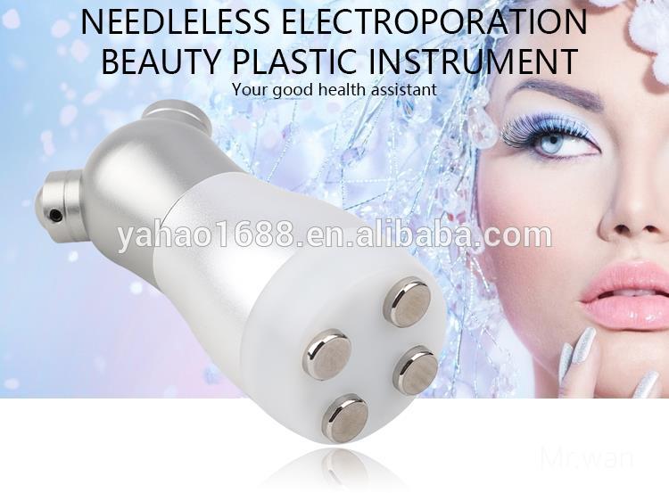 휴대용 Electroporation 아니 바늘 무료 Mesotherapy