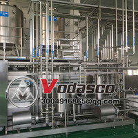 Dairy Beverage Production Line/Milk Sterilization Filling System/UHT Milk sterilizer