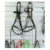 Wholesale Horse Riding Sidepull Bitless Bridle With Brass Fittings