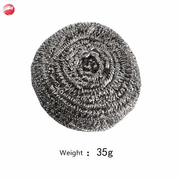 Galvanized wire scourer/kitchen cleaning ball/stainless steel cleaning scourer