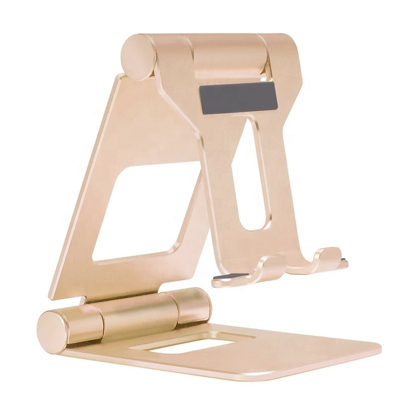 High Quality Universal Cell Phone Holder for Desk, Adjustable Metal Tablet Stand Foldable for <strong>iPhone</strong>