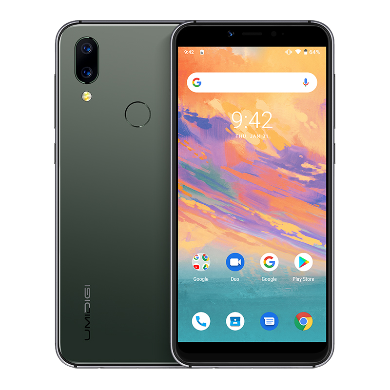 Free Shipping UMIDIGI A3S Global Version Dual 4G <strong>Mobile</strong> Phones 3950mAh Dual 13MP Rear Camera Triple Slots Android <strong>10</strong> Smartphone