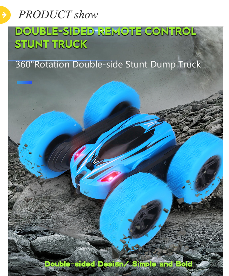 Drifting twisting remote control dance toys rc 360 rolling stunt car