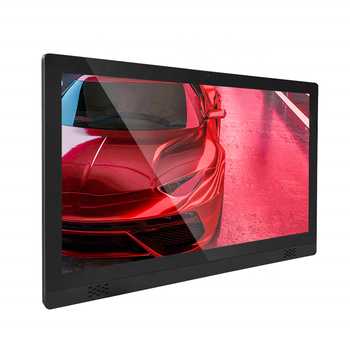 "21"" wall mounted 10 points touch screen win10 HD 1080P wireless 4S shop media player advertising equipment digital signage"