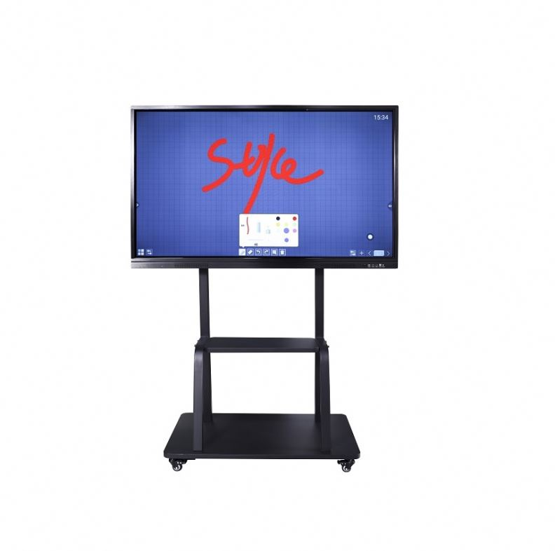 School <strong>Touch</strong> Screen Meeting Interactive Digital Board For Conference Room Whiteboard With Roller Computer <strong>W10</strong> Pc All In One Pro