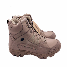 Custom comfortable waterproof <strong>safety</strong> shoes italian combat brown military boots for men