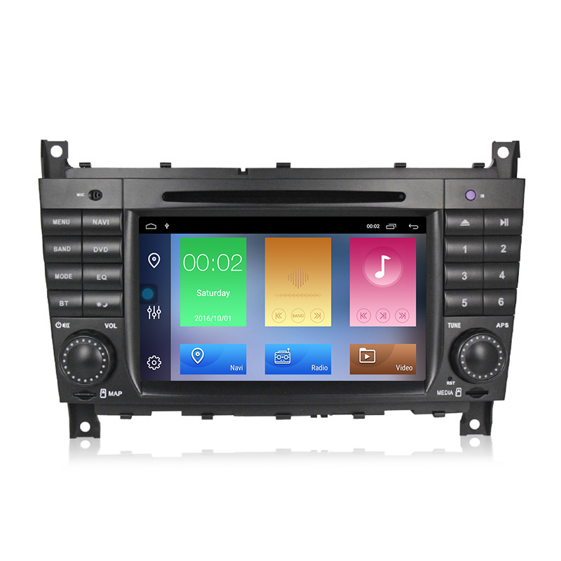 MEKEDE 7&quot; android 10 DSP quad core android car dvd player for Ben-<strong>z</strong> C Class W203 c200 C230 C240 C320 C350 CLK W209 <strong>1</strong>+16GB WIFI
