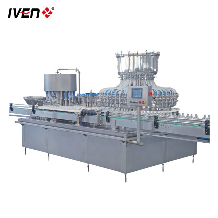 Automatic Glass Bottle Filling And  Capping Machine With Certificate
