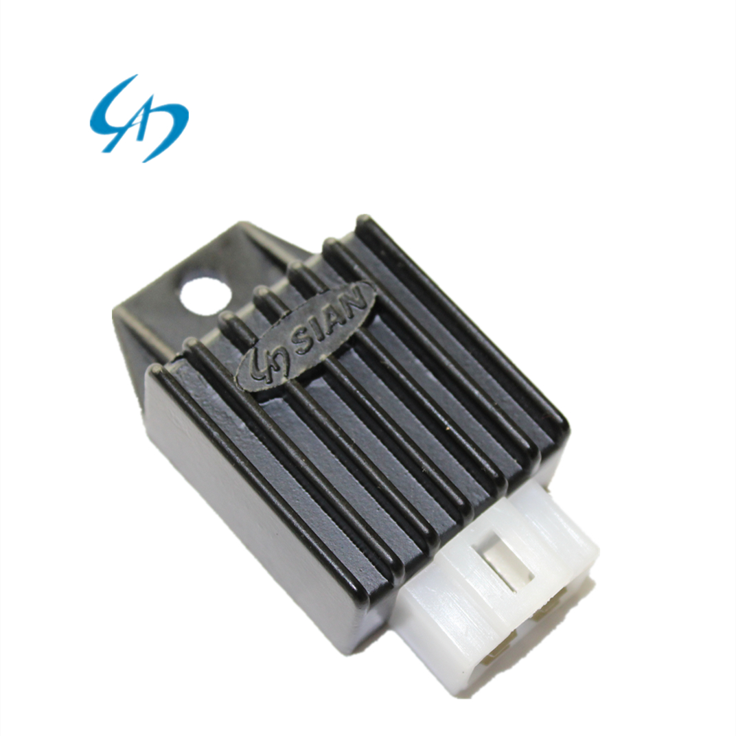 Motorcycle Parts Regulator Rectifier Voltage Regulator for GY6-125 <strong>C100</strong> 12V Motorbike Voltage Regulator