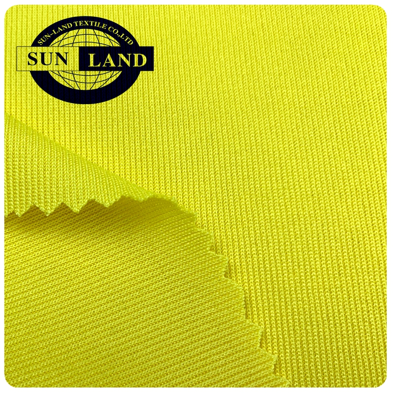 thick school uniform men sports pants clothing weft knitted 100 polyester interlock mesh fabrics