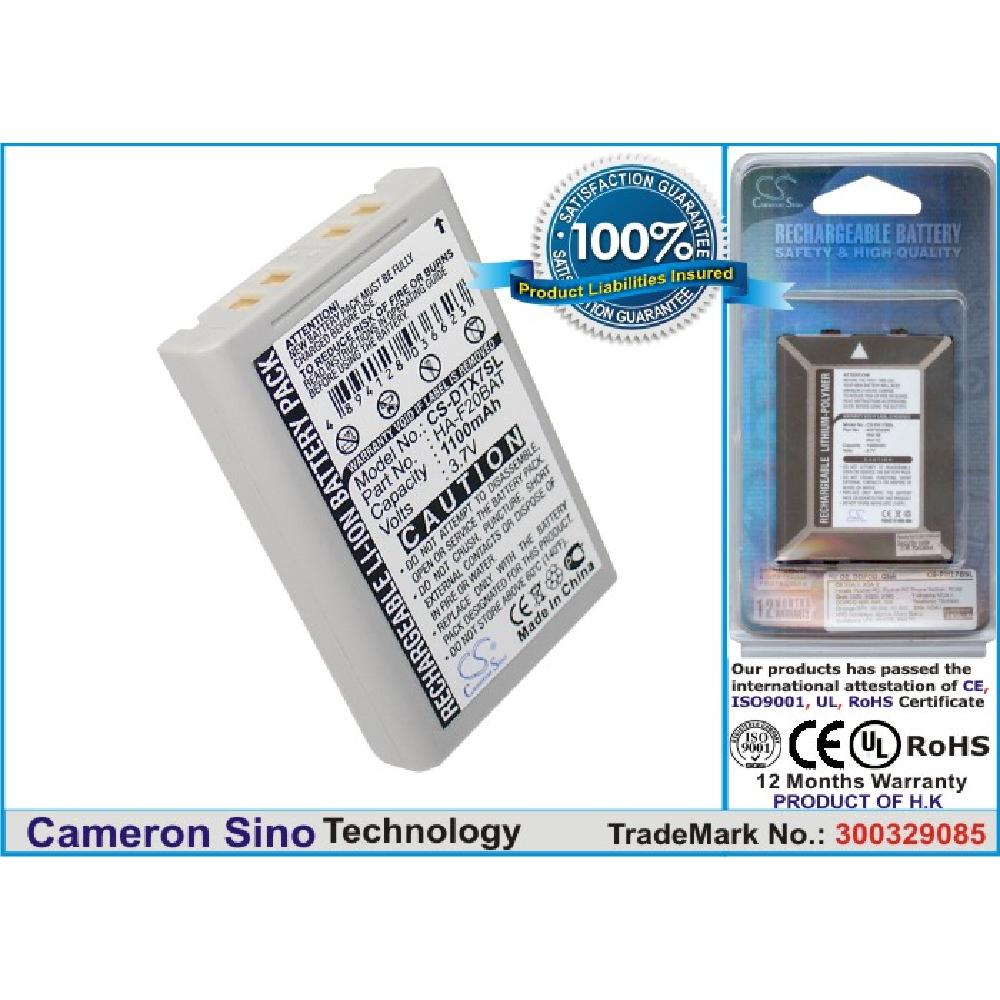 <strong>Battery</strong> Replacement for casio DT-<strong>X100</strong> DT-X7 DT-X7M10E DT-X7M10R DT-X7M30E DT-X7M30R HA-F20BAT HA-F21LBAT