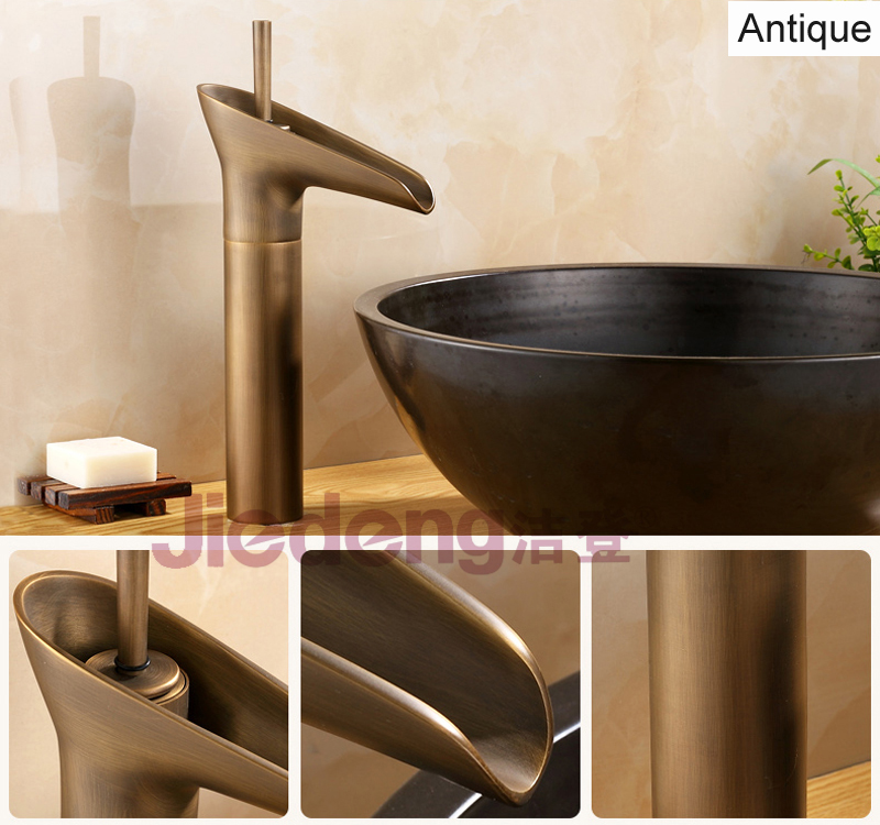 waterfall washbasin faucet kitchen mixer bathroom tap elegant tap
