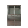 Stainless Steel Hospital Operating Room Instrument Cabinet Metal Medical Storage Cabinet