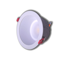 recessed down light cob led downlight with glass 10W 20W 30W indoor lighting