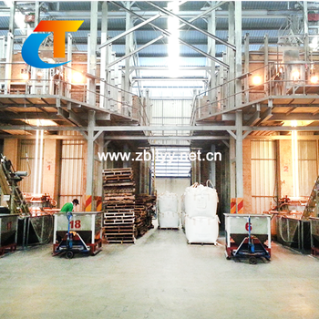 high temperature Solid sodium silicate furnace machine for ceramic