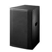 Bocaucus high quantity 15 inch subwoofer speaker OEM PA sound system professional plywood cabinet speaker box