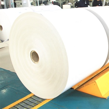 Clay coated white folding box paper board in rolls