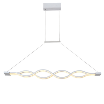 Wavy Line Shape Kitchen Pendant Lighting Creative Design Pendant Lamp