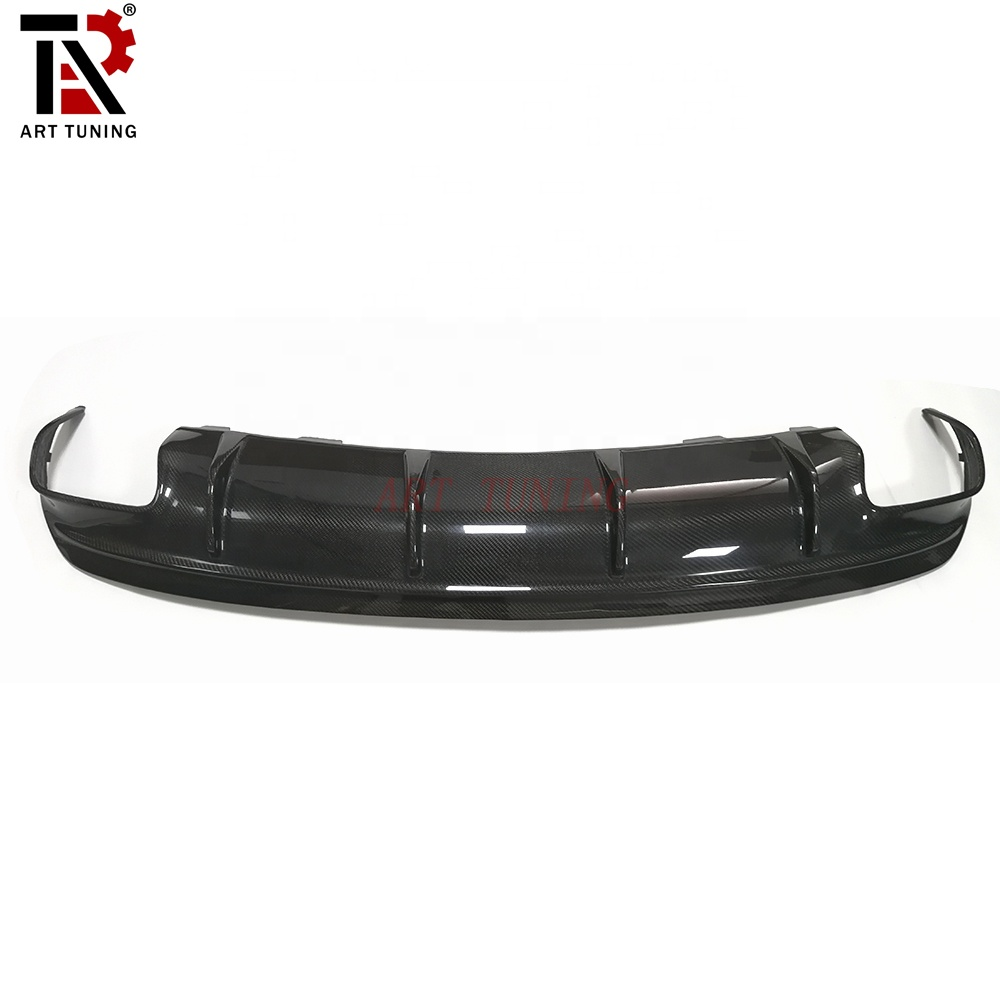 AMG Style Carbon Fiber Rear Bumper Diffuser For C-CLASS <strong>W117</strong>