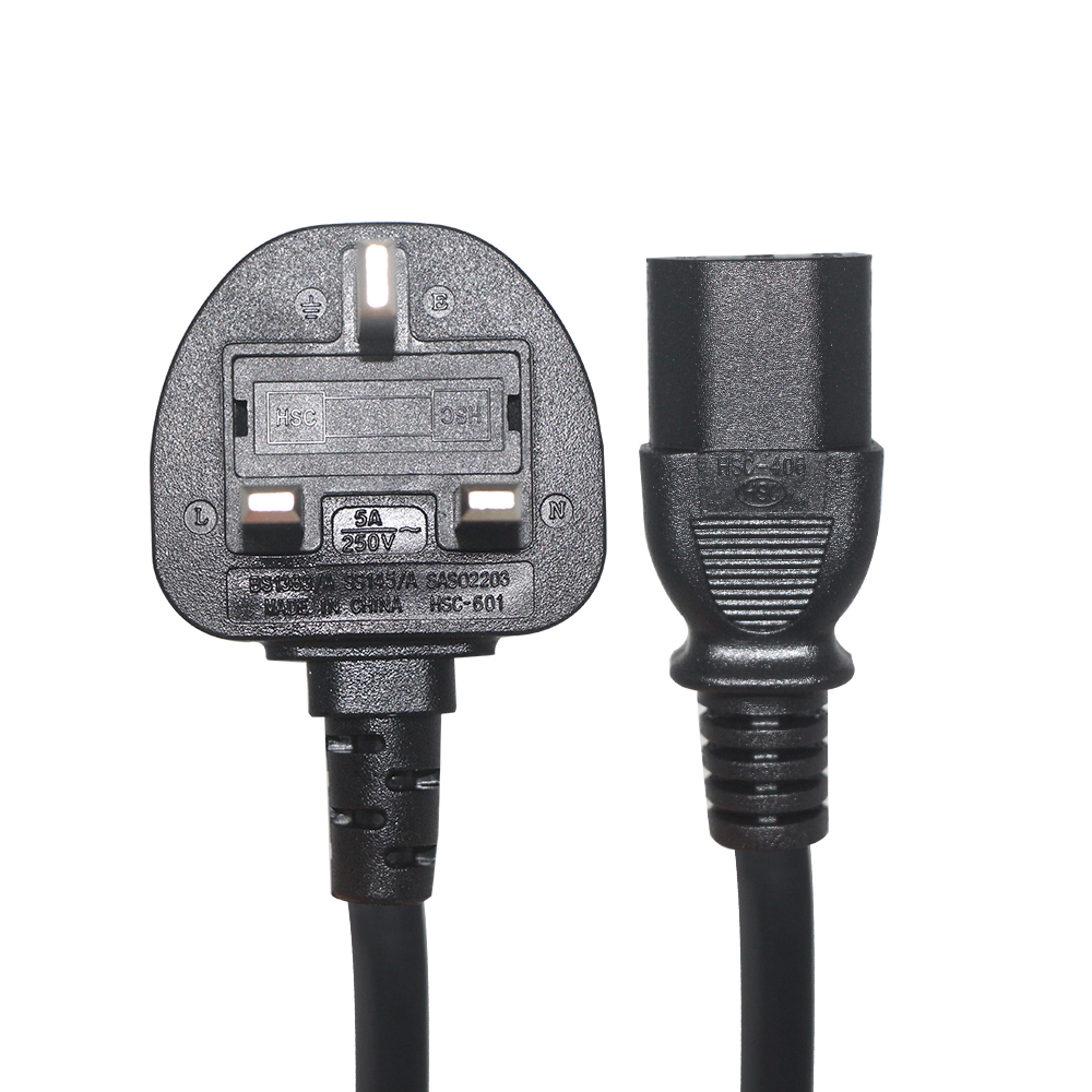 Ac Plug Retractable 13A 250V Uk Standard British 3 Pin Extension Power Cord <strong>Cable</strong> for Laptop Computer Hair Straightener