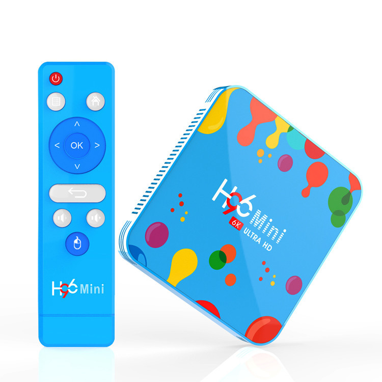 H96 <strong>mini</strong> h6 set-top box 4GB + 32GB / 128GB Android 9.0 smart 6K HD player TV box