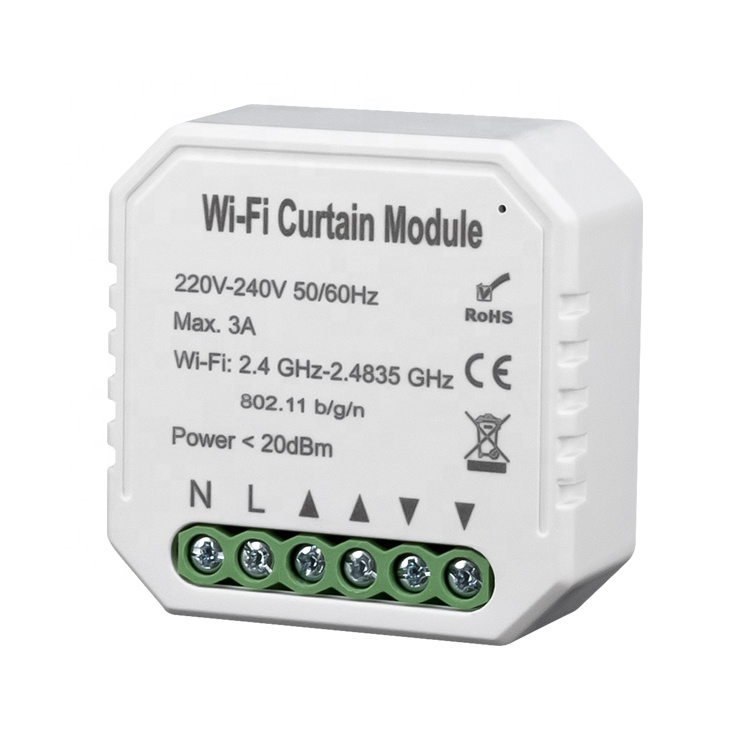 Tuya Smart Life Curtain Forth And Back Motor Smart WiFi Wireless Switch <strong>Module</strong>