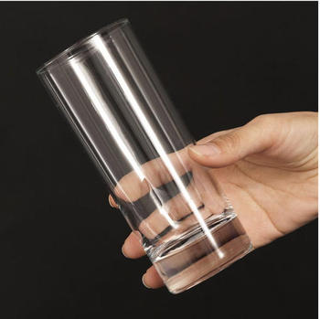 Free sample cheaper 14oz rock highball drinking glass tumbler juice glass at home