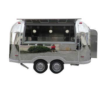 fast churros food trailer / coffee trailer