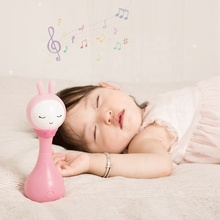 2020 Wholesale Newborn Infant Sleep Trainer ABS Plastic Baby Electronic Toy Alilo R1+ YoYo Bilingual Rattle