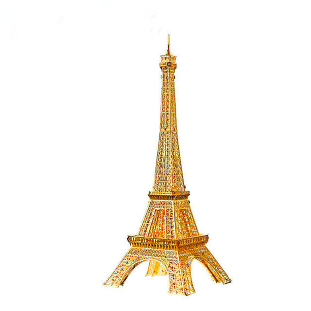 Piececool EIFFEL TOWER 3D metal puzzle assemble gift and toy DIY model Educational <strong>P003</strong>