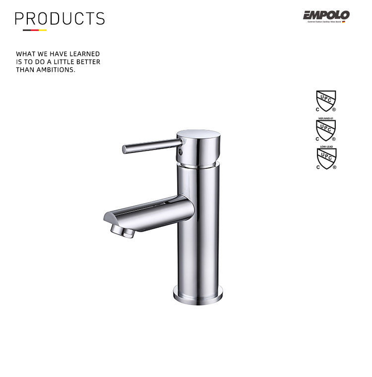 High quality bath wash basin faucet single handle bathroom hot cold water tap basin mixer
