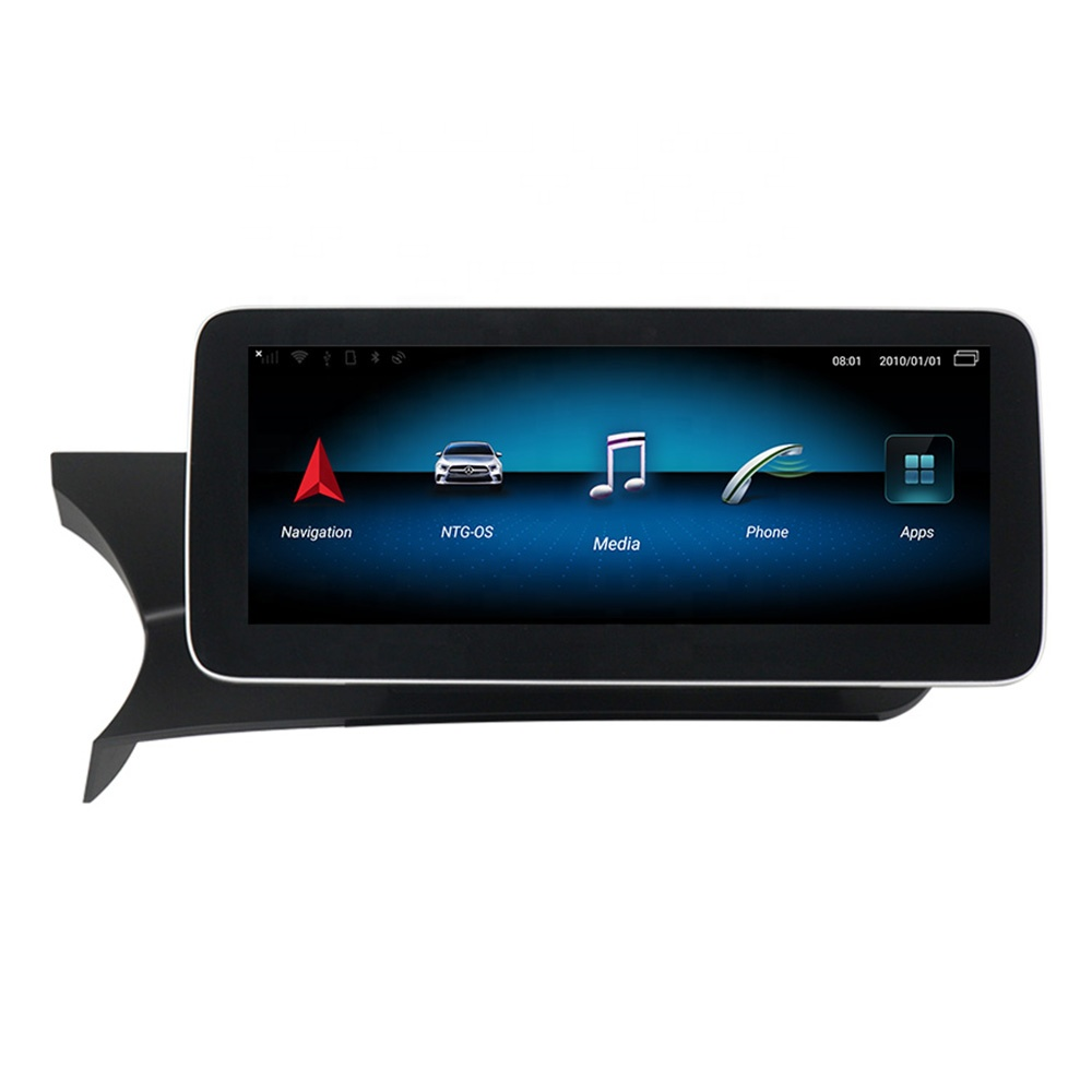 <strong>12</strong>.5'' Plus Blue-ray IPS Android Car Video Player for Mercedes Benz <strong>C</strong> Class W204 S204 2007-2014 car gps system no dvd