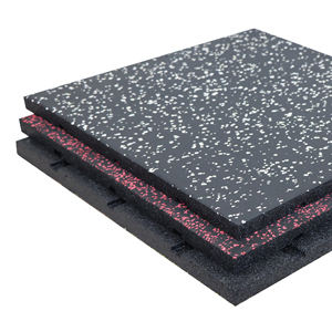 multicolor rubber flooring mats for gym