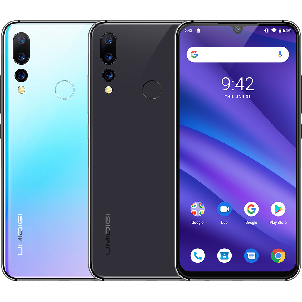 UMIDIGI A5 Pro Mobile Phones 4g Android Octa Core 6.3' FHD+ Waterdrop 16MP Triple Camera Cellphone 4150mAh 4GB RAM 4G Smartphone