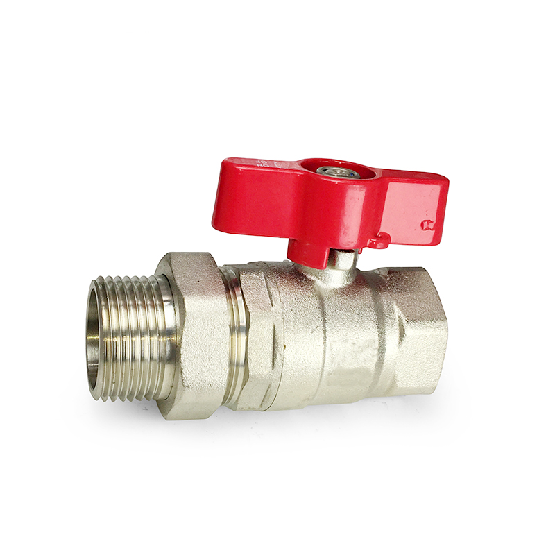 Green Valve <strong>Live</strong>- Connecting Brass Ball Valve