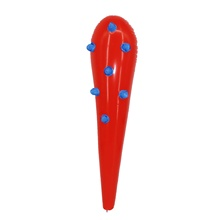 High Quality 31 Inch Red PVC Inflatable Cheering Stick Air Hammer Toy