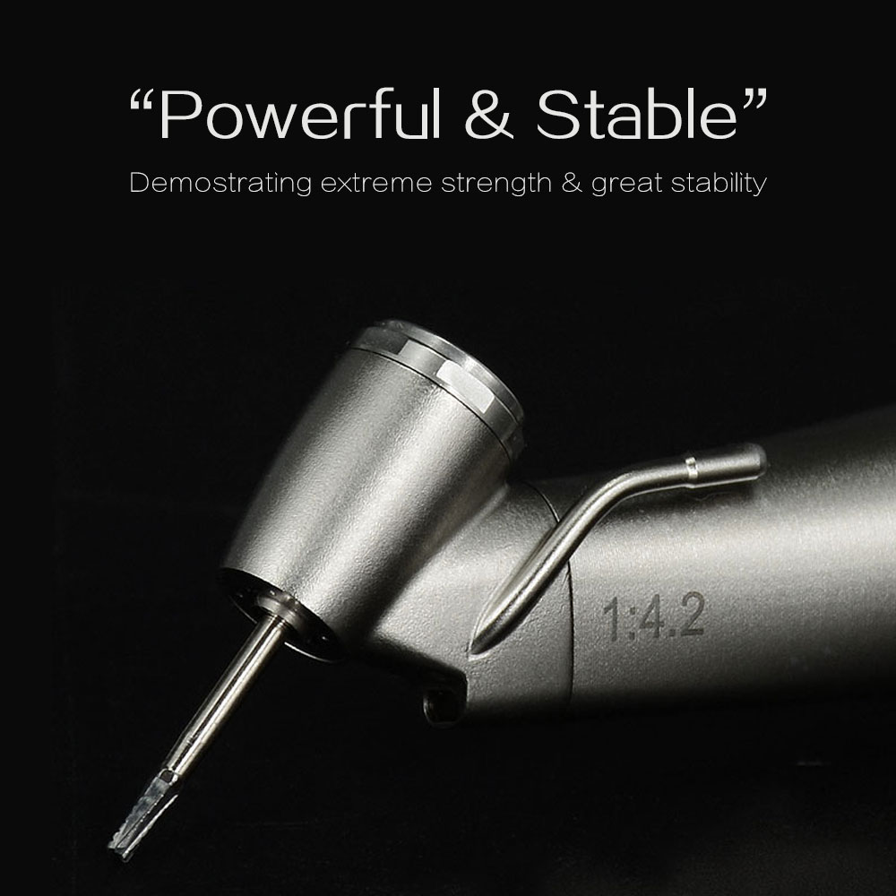 High quality 1 to 4.2 surgical speed increasing microinvasive surgical dental handpiece for micro motor