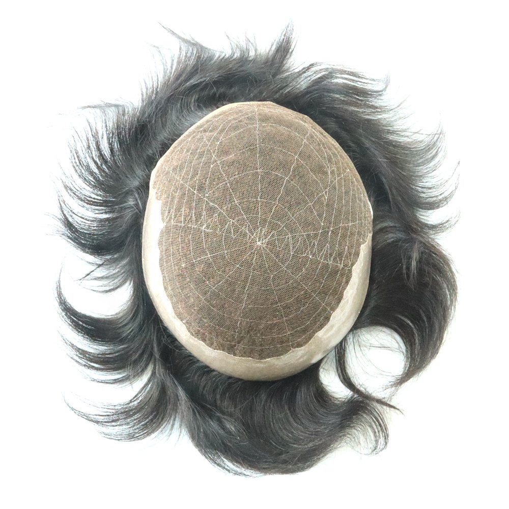 Wholesale <strong>Prices</strong> 100% Indian Virgin Remy Hair Toupee Vendors