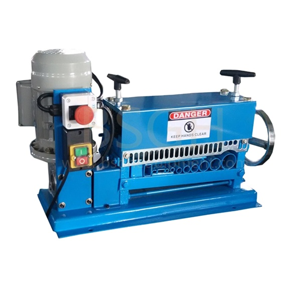 <strong>waste</strong> wire cable stripping machine to separate copper from plastic for sale electric copper wire recycling machine