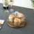 Acacia Round Wood Serving Tray with Dome for  Dessert & Cheese