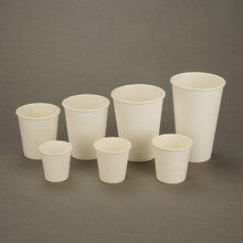 Wholesale Any Size Custom Logo White <strong>Paper</strong> Cups